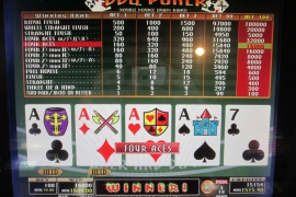 MULTI POKER EX 16,000枚