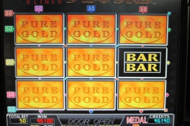 PURE GOLD 46,100枚
