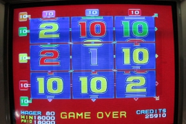 MULTI GAMES BLUE 18,000枚