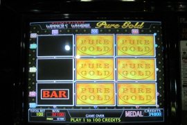 WINNER'S WHEEL PURE GOLD 32,100枚