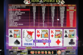 MULTI POKER EXPERT DRAW 40,000枚