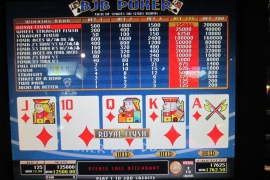 MULTI POKER EXPERT DRAW2 125,000枚