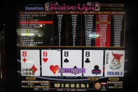 BONUS DRAW RAISE UP JOKERS DOUBLE  62,400枚