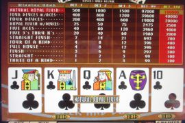 MULTI POKER EXTRA DRAW 100,000枚