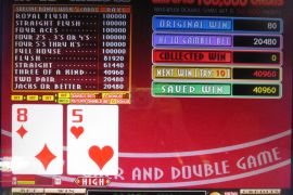 FORTUNE TIME FOUR OF A KIND BONUS 40,960枚