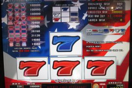 FORTUNE SPIN STARS &STRIPES 4×8 100,000枚