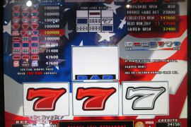FORTUNE SPIN STARS & STRIPES 4×8 185,000枚