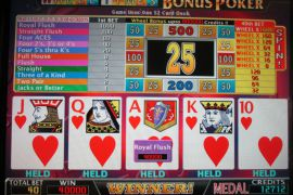 WHEEL TIMES BONUS POKER 40,000枚