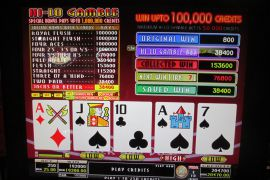 WIN A ROW FOUR OF A KIND BONUS 192,000枚