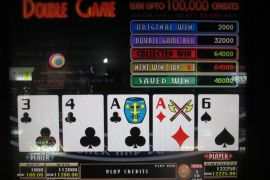 BONUS DRAW RAISE UP JOKER'S DOUBLE 112,000枚