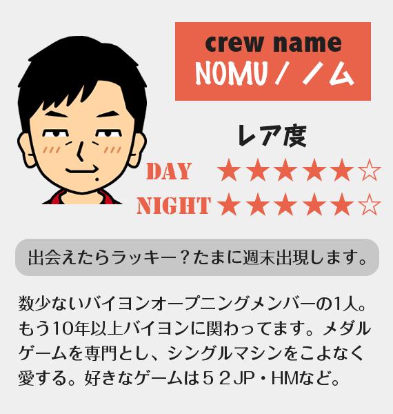 NOMUさん