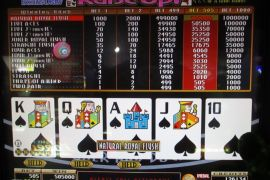 BONUS DRAW RAISE UP JOKER'S DOUBLE 505,000枚
