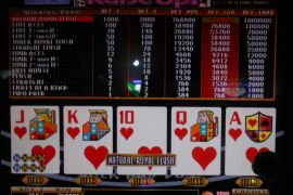 BONUS DRAW RAISE UP JOKER'S DOUBLE 768,000枚