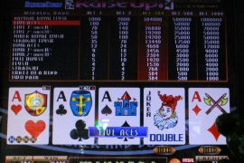 BONUS DRAW RAISE UP JOKER'S DOUBLE 76,800枚