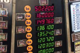 メダルゲーム JPランキング 2020年8月