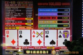 FORTUNE TIME FOUR OF A KIND BONUS PRO 67,200枚
