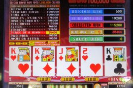 FORTUNE TIME FOUR OF A KIND BONUS PRO 115,200枚