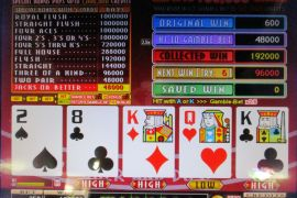 FORTUNE TIME FOUR OF A KIND BONUS PRO 192,000枚