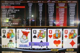 BONUS DRAW RAISE UP JOKER'S DOUBLE 70,000枚
