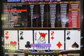 BONUS DRAW RAISE UP JOKER'S DOUBLE 100,000枚