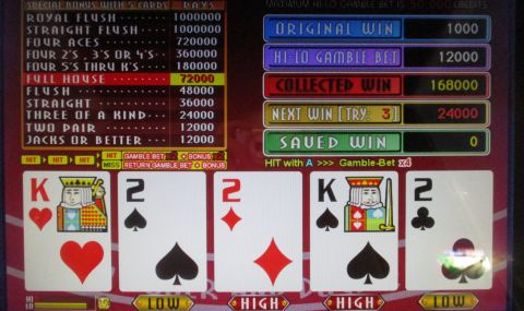 FORTUNE TIME FOUR OF A KIND BONUS PRO 168,000枚